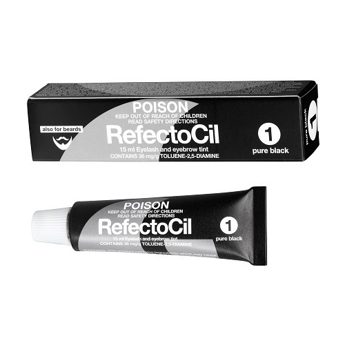 RefectoCil Tint #1 - Pure Black